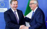 PM Kenny met European Commission President Juncker and EU Brexit negotiator Michel Barnier in Brussels, where he stressed Dublin's concerns about the border