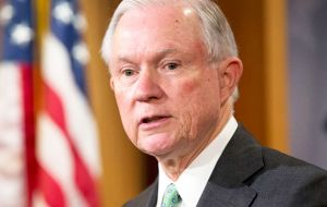 Earlier Thursday, Sessions bowed to intense political pressure and recused himself from any investigation related to Trump's 2016 presidential campaign.