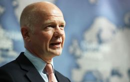"Lord Hague said the government faced ""the most complex challenges of modern times"": Brexit negotiations, the Trump administration, Scottish nationalists"