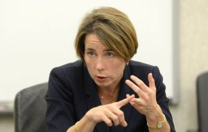 Massachusetts Attorney General Maura Healey said the state is joining fellow states in challenging the revised travel ban.