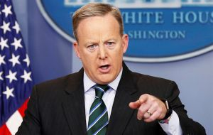 White House spokesman Sean Spicer said the administration believed the revised travel ban will stand up to legal scrutiny.