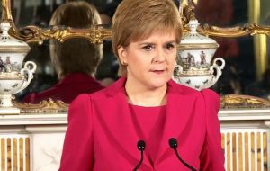 The Scottish first minister said the move was needed to protect Scottish interests in the wake of the UK voting to leave the EU.
