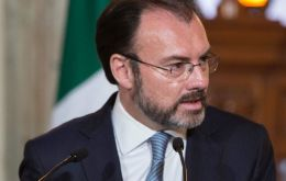 Videgaray met Trump's son-in-law and senior advisor Jared Kushner, along with National Security Advisor H.R. McMaster and Gary Cohn, a top financial aid