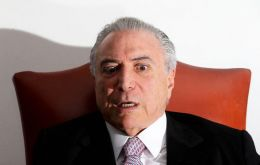 """I felt something strange there. I wasn't able to sleep from the first night. The energy wasn't good,"" Temer admitted"