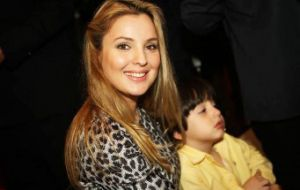 First Lady Marcela agreed about the negative energy and sleepless nights, but their seven-year old son Michelzinho was comfortable running around the huge  palace