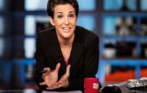 MSNBC host Rachel Maddow argued that it was exercising its First Amendment right to publish information in the public interest.