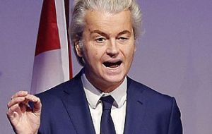 Wilders had insisted that whatever the result of the election, the kind of populist politics he and others in Europe represent aren't going away.