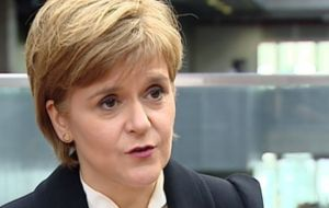 Ms Sturgeon has called for a referendum in the autumn of 2018 or spring of the following year, to coincide with the conclusion of the UK's Brexit negotiations