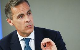 Carney has emphasized his rate-setting board's willingness to ignore a certain level of above-target inflation prompted by the sharp plunge in sterling of around 18%