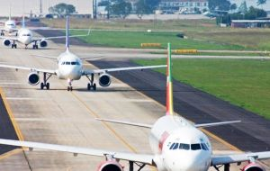 The airports auctioned on Thursday account for 11.6% of passenger traffic in Brazil, according to civil aviation authority ANAC.