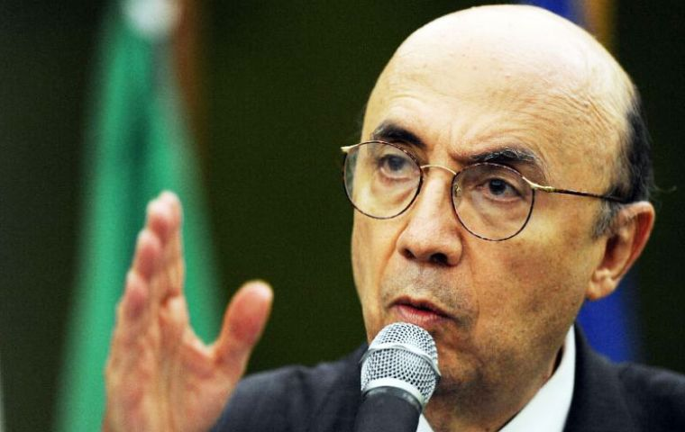 """Brazil actually has experience of closing down its economy,"" Meirelles said. Productivity came down and the bottom line was less growth, more inflation."