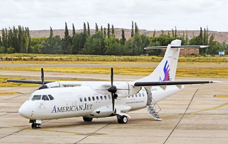 "The American Jet fifteen-year concession must begin operations ""in the next 180 days"" following attainment of the Air Service Provider Certificate."