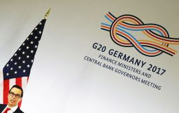 """This is my first G20, so what was in the past communiqué is not necessarily relevant from my standpoint,"" U.S. Treasury Secretary Steven Mnuchin said"