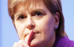 "Ms Sturgeon: to stand in defiance of the request would be for Ms May ""to shatter beyond repair any notion of the UK as a respectful partnership of equals"""