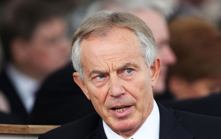 "Blair warned that even removing Jeremy Corbyn as leader would not solve Labour's problems as the party is ""fundamentally"" in ""the wrong political position""."