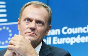 Tusk expects to release an initial response to the notification within 48 hours, and an extraordinary summit of the remaining 27 EU members in four to six weeks.