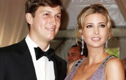 Ms Trump, who owns a fashion brand, will join husband Jared Kushner, who is a senior adviser to the president.
