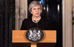 London is a target for those who reject values of liberty, democracy and freedom of speech, stressed PM Theresa May in the speech