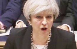 "PM May told a packed Commons chamber: ""The greatest response lies not in the words of politicians, but in the everyday actions of ordinary people."""