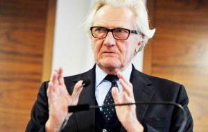 "Lord Heseltine questioned how Theresa May campaigned to remain in the EU but ""within a few weeks"" of becoming PM, insist ""Brexit means Brexit""."