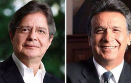 Cedatos poll showed incumbent Lenin Moreno ahead with 52.4% of the vote compared to opposition leader Guillermo Lasso's 47.6%