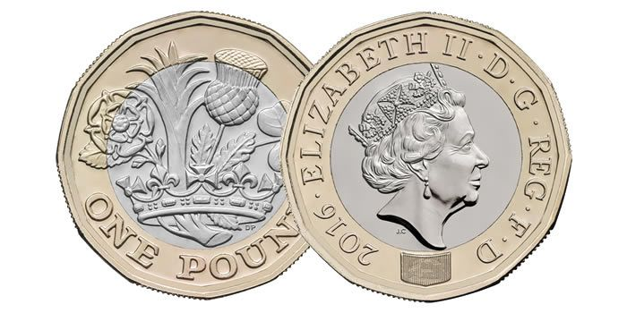 The New Uk 1 Coin Will Be Introduced In On 28 March 2017