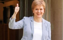 Sturgeon has argued that last year's Brexit vote necessitates a new independence referendum.