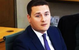 The question was asked by Wes Streeting, MP for Ilford North, who visited the Falkland Islands last month in a delegation of four MPs.