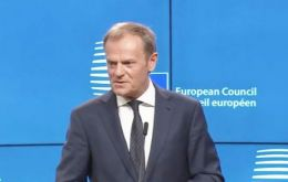 Invoking Article 50 is not a happy occasion, said Donald Tusk
