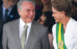 The Dilma Rousseff-Michel Temer presidential campaign is accused of being financed with dodgy money.