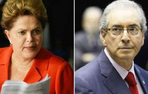 Cunha drove the successful impeachment of ex president Rousseff and was forced from his position and arrested on accusations he received millions in bribes