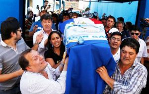 Rodrigo Quintana, 25, was killed by a rubber bullet fired by police at the headquarters of a liberal youth activist group, the Paraguayan opposition said. (Pic AP)