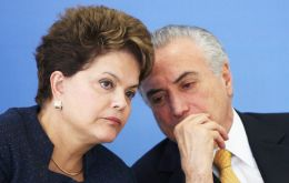 Ex President Rousseff and Temer are accused of taking undeclared campaign funds from corrupt donors.