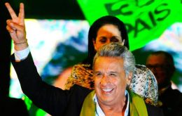 "Moreno, designated heir to a decade of President Correa's ""21st-century socialism,"" had 51.07% of the vote to 48.93% for conservative ex-banker Guillermo Lasso"