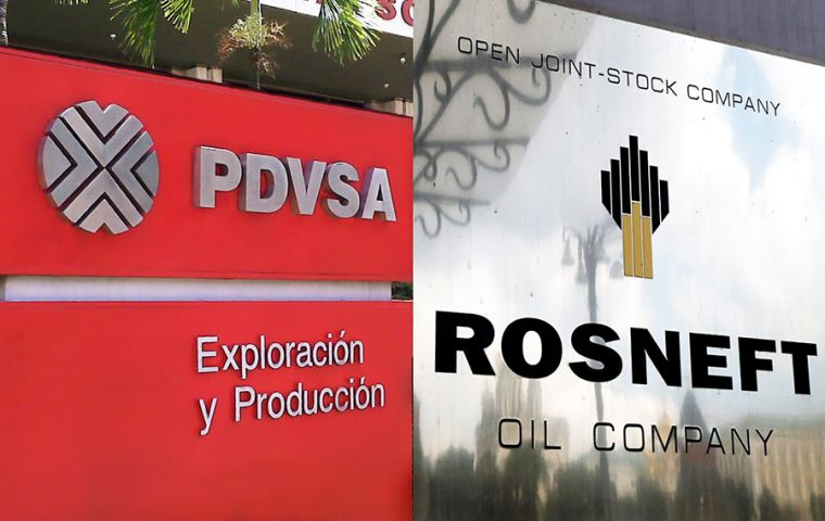 Rosneft, a major PDVSA partner at a time when relations between Caracas and Moscow have grown increasingly cozy, said the deal was legal.