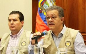 OAS Mission was led by ex president of the Dominican Republic Leonel Fernández, and deployed 77 observers in 19 provinces of the country