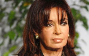 "Cristina Fernandez presented a legal brief stating she was the victim of a ""political-magistrates"" operation to discredit her family sponsored by president Macri."