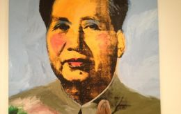 "The painting, titled ""Mao"", was sold to a private Asian collector at a Sotheby's auction — it sold for much less than the US$15 million it expected to fetch."
