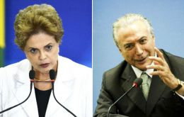 Compared to Dilma Rousseff, 18% said Temer's administration was better; 41% preferred Rousseff's performance and 38% found them the same.