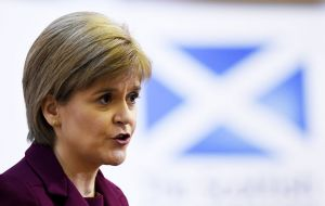 "First Minister Nicola Sturgeon may consider holding a ""consultative"" referendum, - similar to one in Catalonia after Madrid refused to grant permission for one."