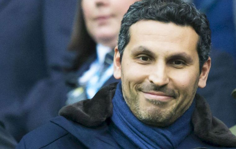 Manchester City chairman Khaldoon after confirming the purchase of Athletic Torque