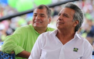 "President elect Lenin Moreno is considered the ""heir apparent"" of previous President Rafael Correa, who has been in office for three terms."