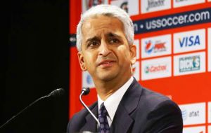 Sunil Gulati revealed that the initial plan calls for the United States to host 60 of the 80 scheduled matches. Canada and Mexico would each host 10.