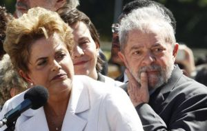 Ex presidents Lula da Silva and Rousseff are not included in the so called Fachin List since they no longer hold elected posts and are not entitled to special status.