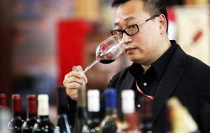 """The wine market that is growing so dynamically in Asia is today driving consumption"", said Chilean winemakers, Vinos de Chile"