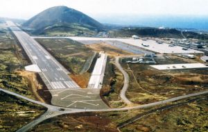 The Ascension Island runway needs urged repairs and accommodation for larger aircraft
