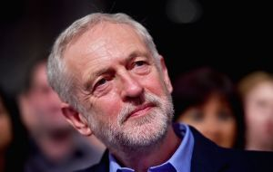 "Labour leader Jeremy Corbyn said elections ""would give the British people the chance to vote for a government that will put the interests of the majority first."""
