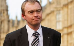 "Lib Dem leader Tim Farron tweeted: ""This is your chance to change the direction of your country. If you want to avoid a disastrous hard Brexit""."