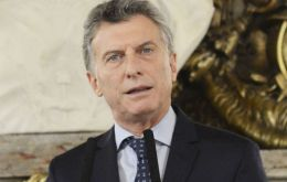 """We have the strong determination in Mercosur of signing a trade agreement with the European Union in the second half of this year"", Macri was quoted."
