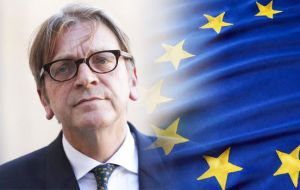 "European Parliament's Brexit coordinator Guy Verhofstadt said that British voters would have the chance ""to express on how they see the future UK/EU relationship"""